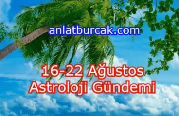 16-22 Ağustos 2021 Astroloji Gündemi