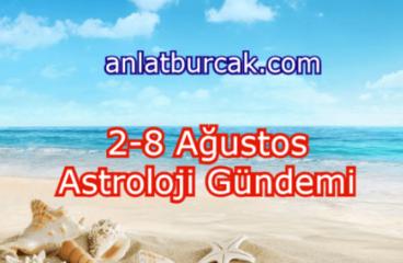 2-8 Ağustos 2021 Astroloji Gündemi