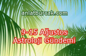 9-15 Ağustos 2021 Astroloji Gündemi