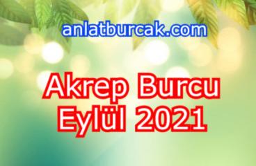 Akrep Burcu Eylül 2021