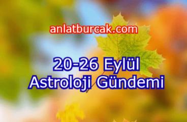 20-26 Eylül 2021 Astroloji Gündemi