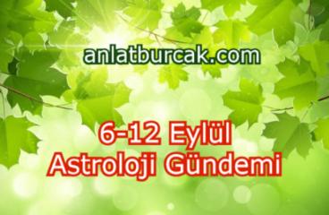 6-12 Eylül 2021 Astroloji Gündemi