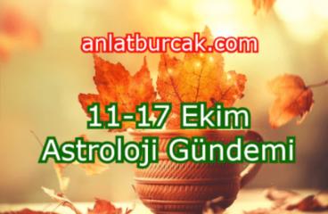 11-17 Ekim 2021 Astroloji Gündemi