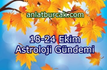 18-24 Ekim 2021 Astroloji Gündemi